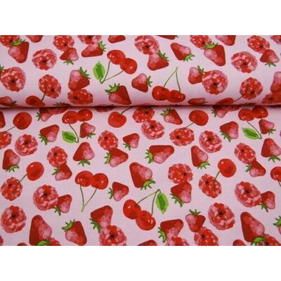 Material Home Decor - Red Fruit Party