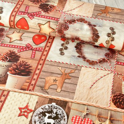 Material home decor- Xmas Spirit