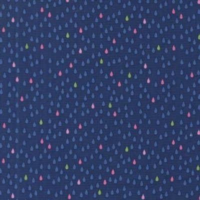 Material Michael Miller -Droplets Blueberry
