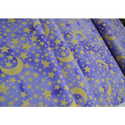 Material Michael Miller - Moon And Stars Grape