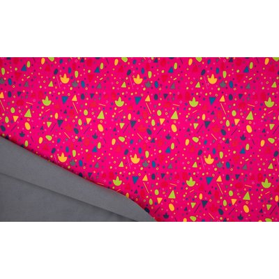 Material tehnic Soft Shell - Confetti Pink
