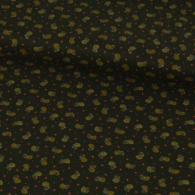 Material textil Lecien Japan - Acorns Brown