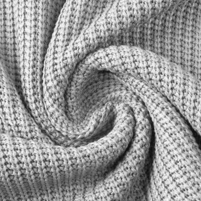 Material tricotat din bumbac - Grey