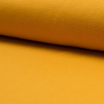Material tubular Rib pentru mansete - Ocre