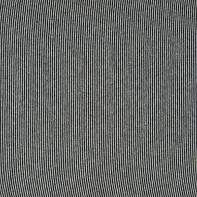 Material tubular Rib pentru mansete - Stripe Navy