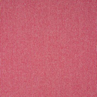 Material tubular Rib pentru mansete - Stripe Red