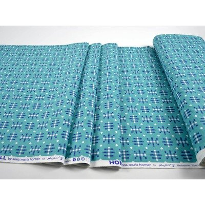 Misguided Gingham fabric - Teal