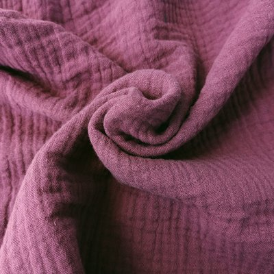 Muselina Organica GOTS - Purple