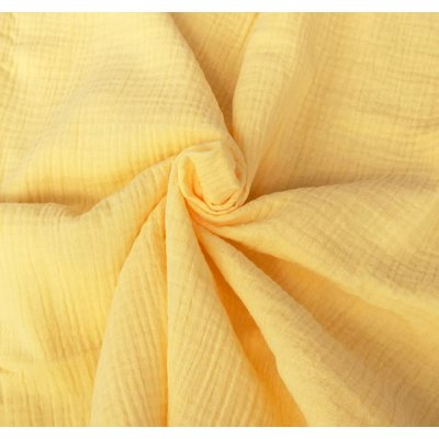 Muselina Uni - Soft Yellow