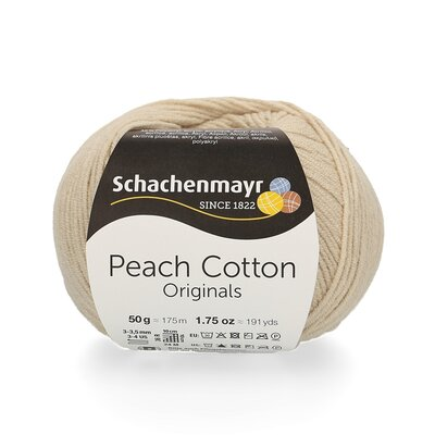 Peach Cotton 50 gr - Natur 00102