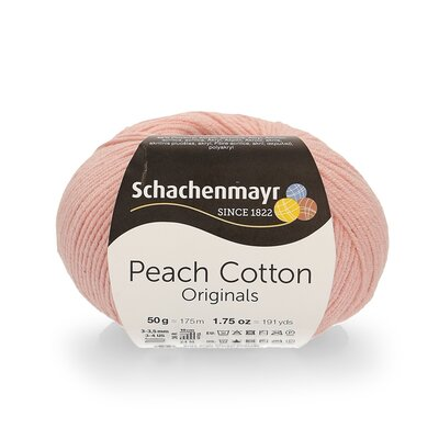 Peach Cotton 50 gr -  Soft Pink 00135