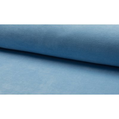 Plush bumbac Nicky Velour - Light Blue