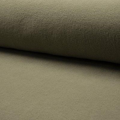 Plush Fleece din bumbac - Light Khaki