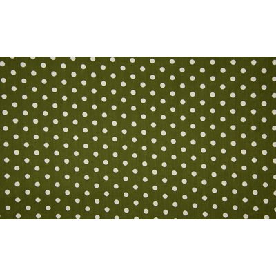 Poplin - Big Dots Khaki