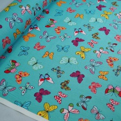 Poplin Butterfly Mint