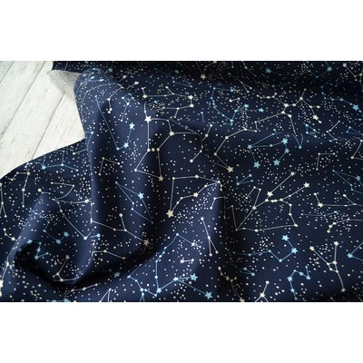 Poplin - Constellation Navy