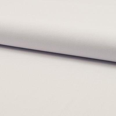 Poplin din bumbac uni - Optical White