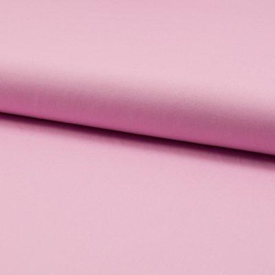 Poplin din bumbac uni - Rose