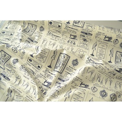 Poplin Fashion Fabric - Couture Ivory