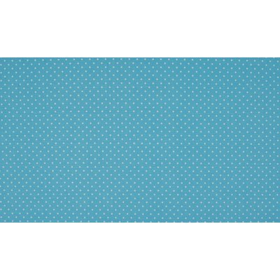 Poplin imprimat - Mini Dots Blue