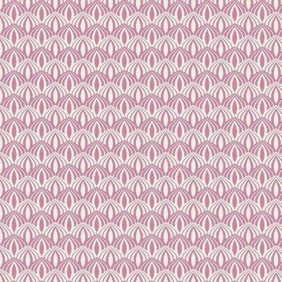 Poplin imprimat - Scallop Rose