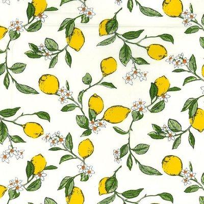 Poplin - Lemon Blossom Ivory