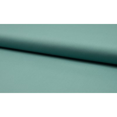 Poplin stretch din bumbac -Dusty Mint