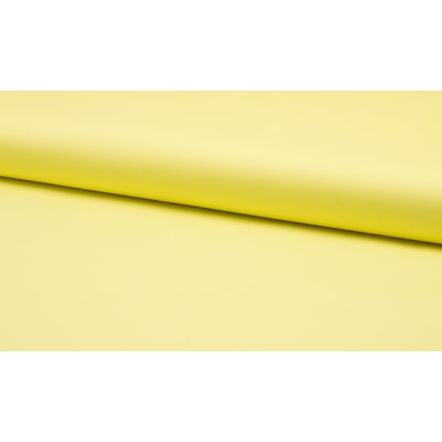 Poplin stretch din bumbac - Light Yellow