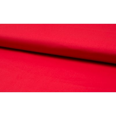 Poplin stretch din bumbac - Red