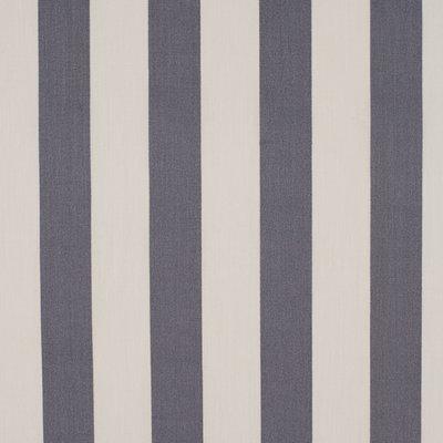 Poplin Stripes White-Antracit