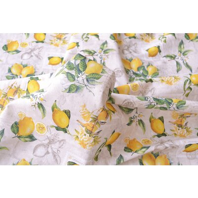 Printed cotton - Citronier