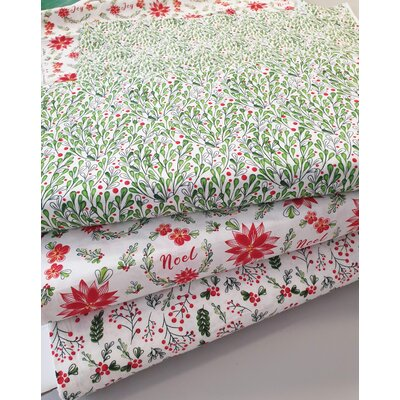 Printed Cotton - Merry & Bright Foliage