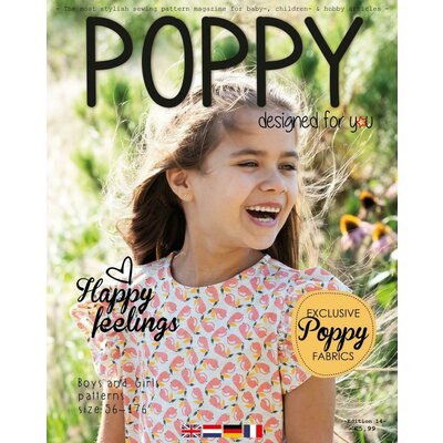 Revista tipare copii - Poppy Magazine nr 14