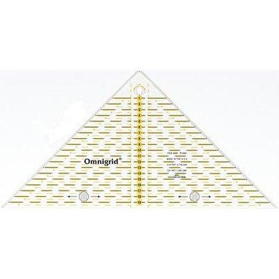 Rigla patchwork triunghiulara 20 cm -  Cod 611313