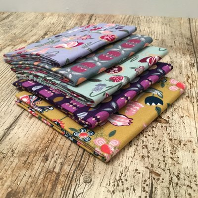 Set Fat Quarter - Butterfly Garden