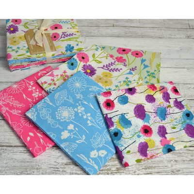 Set Fat Quarter Floral Meadow