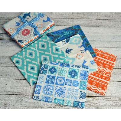 Set Fat Quarter Moroccan Bazaar Camel