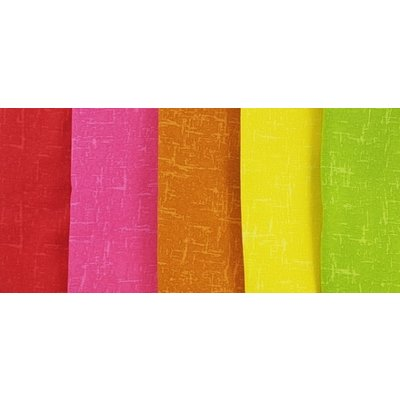 Set Fat Quarter - Textured Blenders Brights