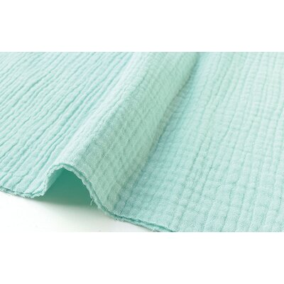 Solid Double Gauze - Menthe