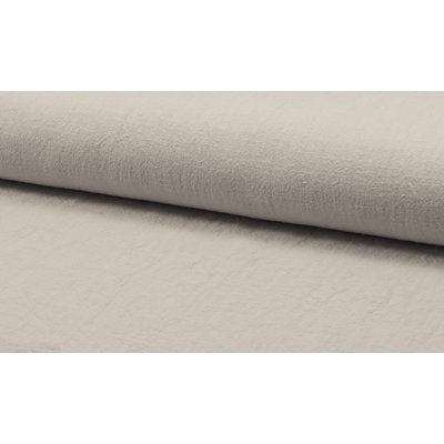 Stonewashed linen - Silver