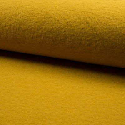Tesatura din lana fiarta  - Ocru