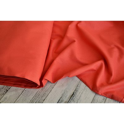 Traditional plain weaved fabric - Red