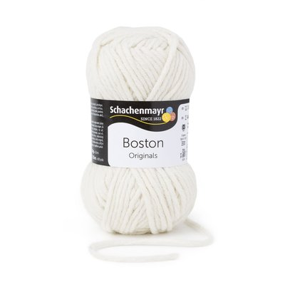 Wool blend yarn Boston-Natural 00002