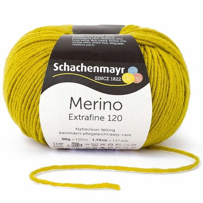 Wool yarn - Merino Extrafine 120 Anis