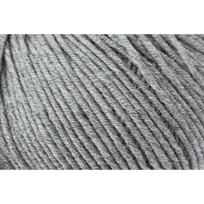 Wool yarn -Merino Extrafine 120 Medium Grey