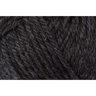 Wool Yarn Wool85 - Dark Grey Melange
