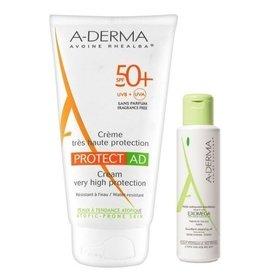 A-derma Protect AD Crema Spf 50+ 150ml+Exomega ulei 200ml