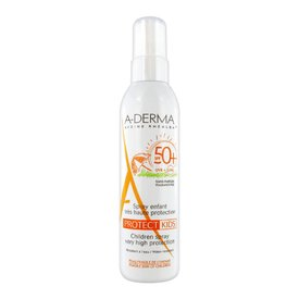 A-derma Protect Kids Spray Protectie Solara Ridicata Spf 50+ 200 ml