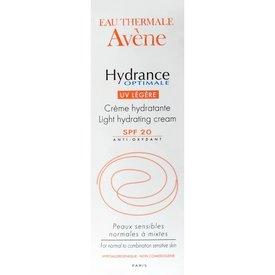 Avene Hydrance Optimale Legere Spf 20+ Cremă Hidratantă Fotoprotectoare Ten Normal-Mixt 40ml