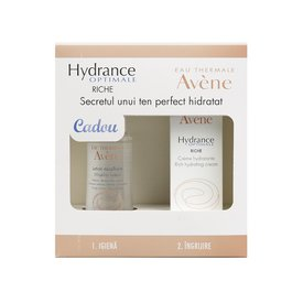 Avene Hydrance Optimale Riche Crema 40ml + Lotiune Micelara 100ml